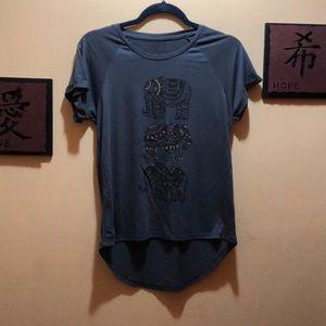 Dark Gray Elephant T-Shirt by Freeze